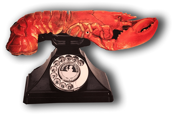 lobster with telephone